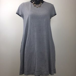 3 for $25 Gap Tiny Striped Tee Dress with Pockets